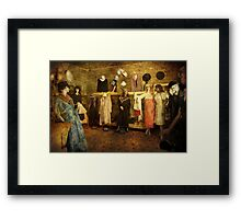 Fashion Frenzy  Framed Print