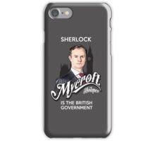 Mycroft iPhone Case/Skin