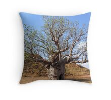 Boab, Kununurra Throw Pillow