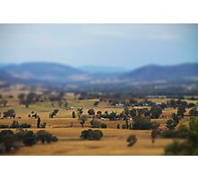 Indigo Valley Photographic Print