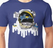 Astro and the Spaceship! Unisex T-Shirt