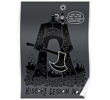History Lesson No.1 Poster