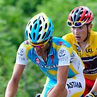 Contador V's Brajkovic by procycleimages