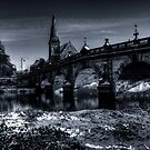 English Bridge B/W....again. by dan williams