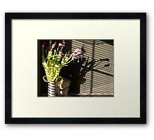 """""""Shadow"""" Framed Print"""