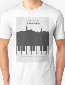No192 My Casablanca minimal movie poster  T-Shirt