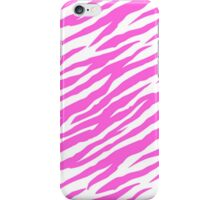 Pink Striped Glitter iPhone Case/Skin