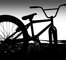 Bmx, BW Threshold. by Damon Colbeck