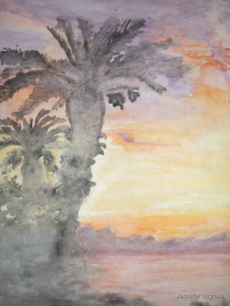 California Sunset by Jennifer Ingram