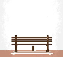 No193 My Forrest Gump minimal movie poster by JinYong