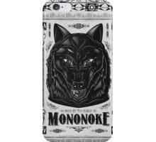 Princess Mononoke Black Wolf Iphone Case iPhone Case/Skin