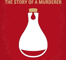 No194 My Perfume The Story of a Murderer minimal movie poster by JinYong
