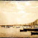 Harbour Salonika 1968 by pennyswork