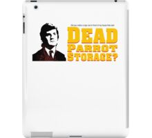 Dead Parrot Storage iPad Case/Skin