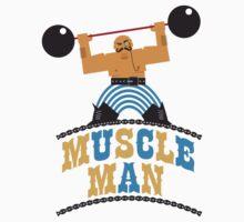 Muscle Man Kids Tee