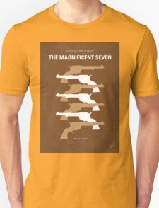 No197 My The Magnificent Seven minimal movie poster  Unisex T-Shirt