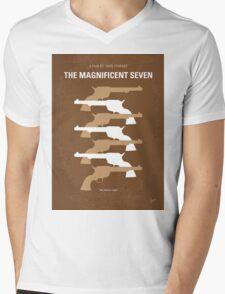 No197 My The Magnificent Seven minimal movie poster  Mens V-Neck T-Shirt