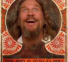 Big Lebowski power to the people by Vintagestuff