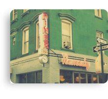 remedy diner Canvas Print