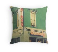 remedy diner Throw Pillow