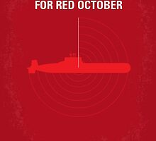 No198 My The Hunt for Red October minimal movie poster by JinYong