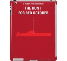No198 My The Hunt for Red October minimal movie poster iPad Case/Skin