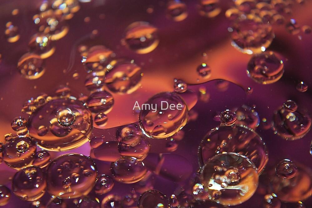 Oil Bubbles by Amy Dee