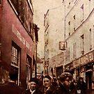 Street in Monmartre 1968 by pennyswork
