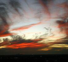 Ribbed Sunset by shazart