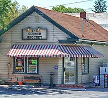 The Corner Store by James Brotherton