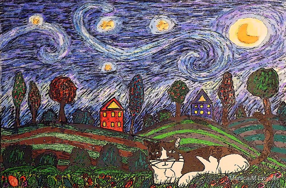 Thinking of Stars by Monica Engeler