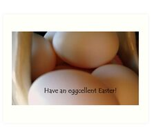 Eggs For Easter Art Print