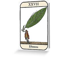 Eftsoons Greeting Card