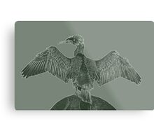 Manipulated Photo Metal Print