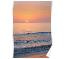 Ocean Sunset on Sanibel Poster