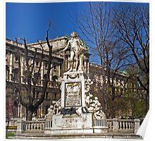 Mozart Memorial - Monument Poster