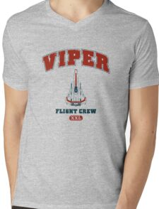 Viper Flight Crew Mens V-Neck T-Shirt