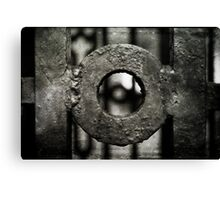 Rusty gates Canvas Print