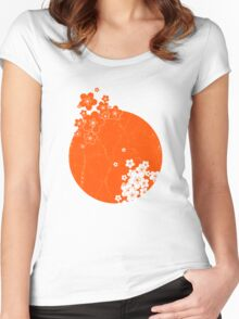 Japan Women's Fitted Scoop T-Shirt