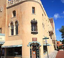 Santa Fe - Adobe Building by Frank Romeo