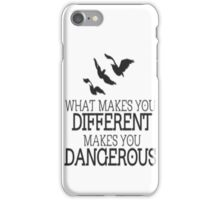Divergent different quote iPhone Case/Skin