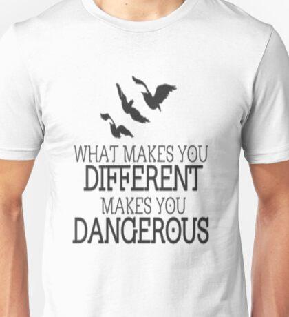 Divergent different quote Unisex T-Shirt