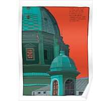 St Peters red and green Poster
