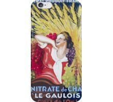 Leonetto Cappiello Affiche Nitrate Le Gaulois iPhone Case/Skin