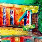 The Hunters Bar Hotel by Diane  Kramer