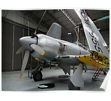 Hawker Sea Fury(WG655) Poster
