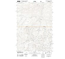 USGS Topo Map Oregon Dutchman Creek 20110727 TM Photographic Print