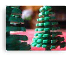 lego trees Canvas Print