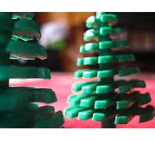 lego trees Photographic Print