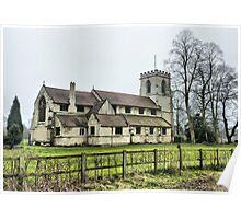 St Andrews Church. Bishopthorpe  Poster